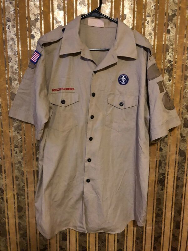 Boy Scouts Of America Shirt Size Mens X-LARGE.                   V