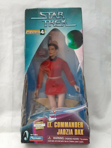 """1998 Star Trek Warp Factor Series 4 Lt Comm Jadzia Dax 9"""" figure NIB*"""