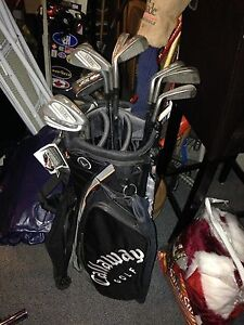 Brand new golf  bag and clubs