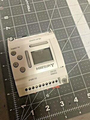 Mitsubishi Programmable Relay Al-10mr-d 24 Vdc 6 In 4 Relay Out