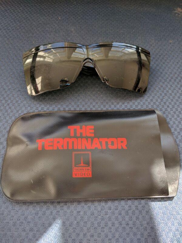 THE TERMINATOR 1985 PROMO VIDEO VHS SUNGLASSES W/CASE RARE vintage