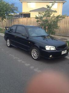 2002 Hyundai Accent Hatchback REGO + RWC Berwick Casey Area Preview