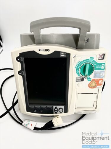 Philips Heartstart MRX - ECG, Spo2, NIBP, Temp and IBP- TESTED/PASSED - No Batt