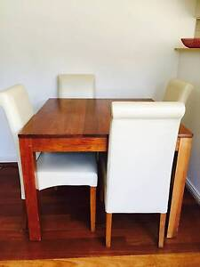 Best in class 4 seater dining table and chairs North Sydney North Sydney Area Preview