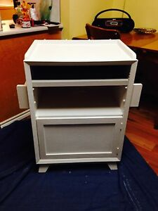 Vintage Kitchen Island / Cabinet On Casters