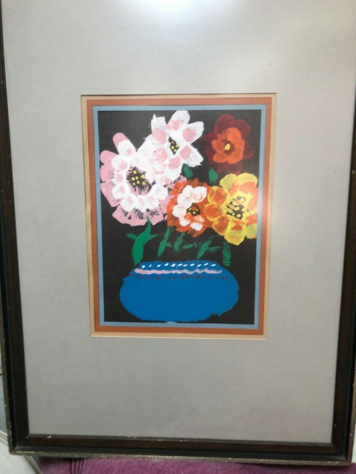 Oil Painting Brush/Tempura By Jessica Kawecki Daughter Of Leon S. Kawecki  - $17.95
