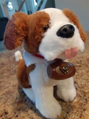 "Elf On The Shelf Elf Pets Saint Bernard Puppy Dog Plush 7"""