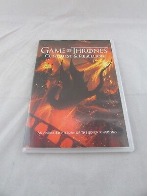 Game Of Thrones Conquest   Rebellion   Animated History Of 7     Blu Ray  2017