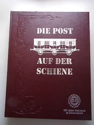 2 Bücher Die Post auf der Schiene Deutsche Postgeschichte Essays und Bilder