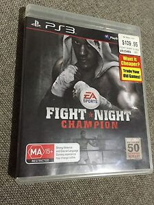 PS3 Fight Night Champion Bedford Bayswater Area Preview