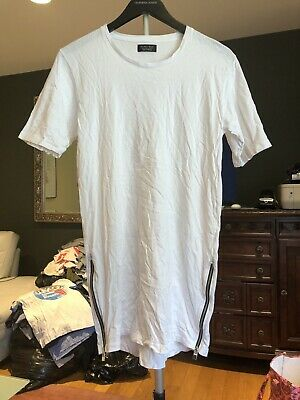 zara man t-shirt Small White