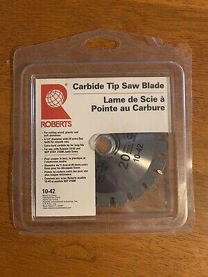 Roberts Carbide Tip Saw Blade Replacement Undercut Jamb Saw 10-42