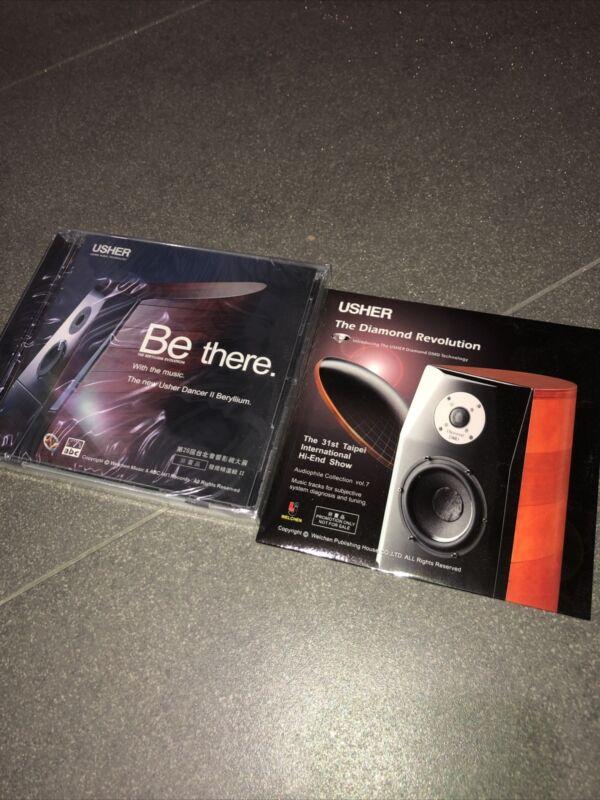Usher Audio Audiophile CD X2 Genuine NEW