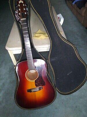 guild D-25, acoustic guitar