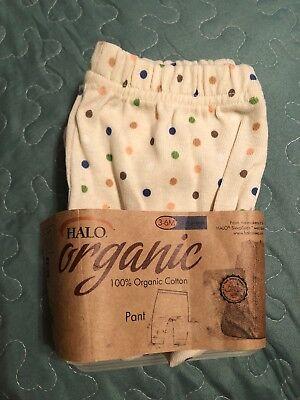 Halo Pants100% Organic Cotton 3-6 Months