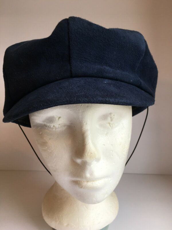 Vintage Sears Millinery Boys Newsboy Cap Blue Hat Costume
