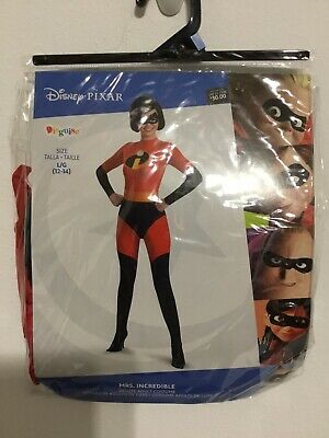Invisible Halloween Costume (Adult Women's The Mrs. Invisible Halloween Costume Size Large 12-14)