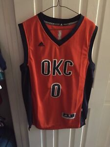 OKC Westbrook NBA Jersey Large