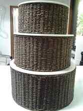 3 LARGE STORAGE BASKETS Umina Beach Gosford Area Preview