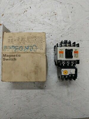 Fuji Electric Magnetic Switch Sw-5-12e Nos