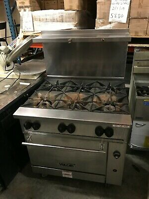 2019 Vulcan 36s-6bn Endurance Natural Gas Range With Standard Oven