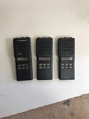 Motorola Mts2000 Housing Top Display Lot Of 3