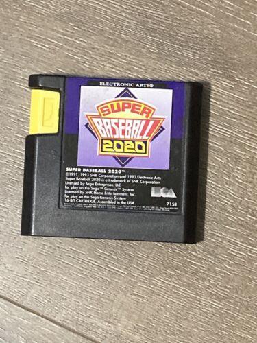 Sega Genesis Game Super Baseball 2020 - $12.99