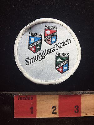 SMUGGLER'S NOTCH Jeffersonville Vermont Mountain Snow Ski Resort Patch 76NN