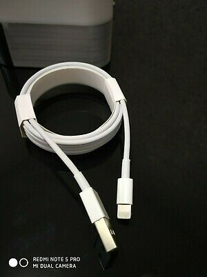 GENUINE & ORIGINAL OFFICIAL Apple iPhone 7/6S/6+/5S Charger USB Cable 1m &2m