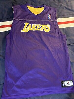 Los Angeles Lakers NBA Reversible Practice Jersey Size Adult Large #13