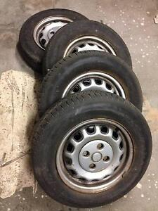 """AE95 Toyota Corolla 13"""" Wheels and Tyres - Set of Four (4) Traralgon Latrobe Valley Preview"""