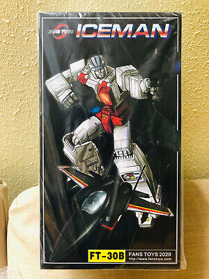 In STOCK Transformers FansToys FT-30B FT 30B Iceman G1 Superion Air Raid Figure