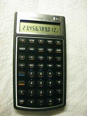 HP 10bll  Financial Calculator accountant school office tested banking HP 10 bll