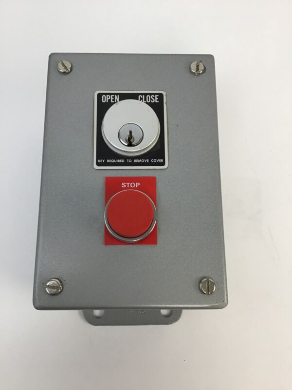 HOFFMAN SKS-2S FLUSH MOUNT SECURITY SWITCH WITH KEYS
