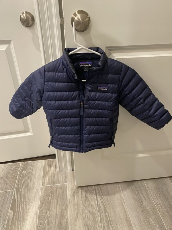 Patagonia Baby Down Sweater Classic Navy 3T