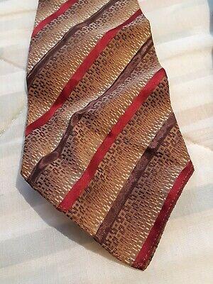 New 1930s Mens Fashion Ties Men's necktie gatsby era 1930s sak's 5th ave new york city striped $39.99 AT vintagedancer.com