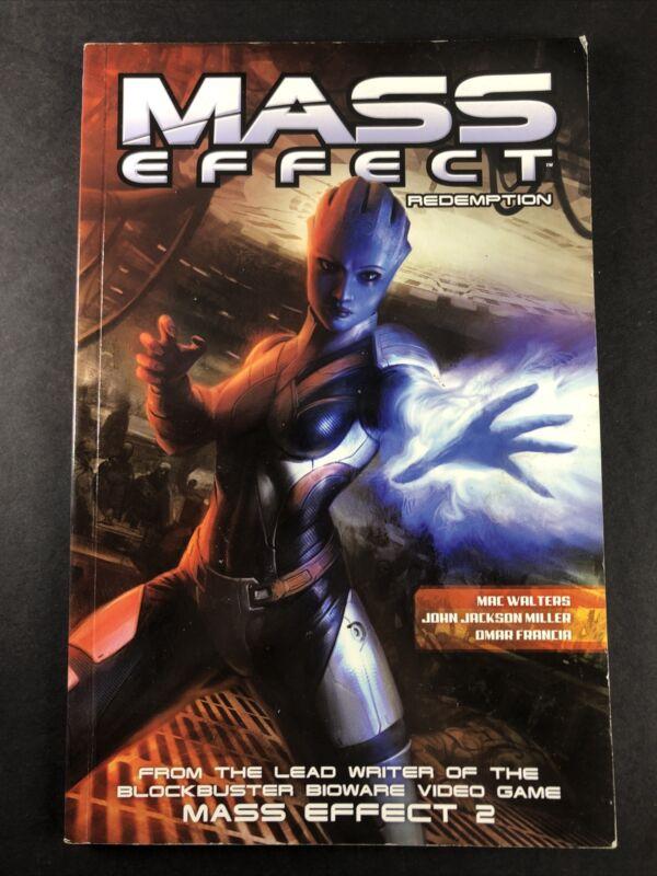 AUTOGRAPHED John Jackson Miller Mass Effect Redemption 1 TPB Dark Horse Comic