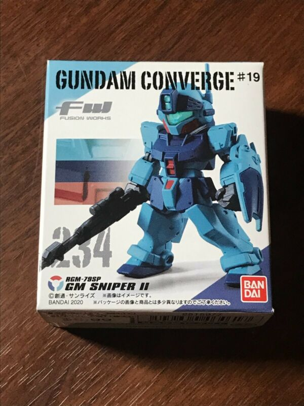 BANDAI FW GUNDAM CONVERGE 19 GM SNIPER II Figure NEW US
