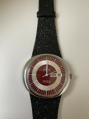 Vintage Omega Automatic Dynamic Red Dial