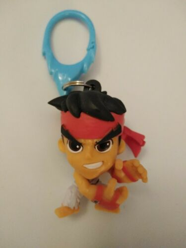 Street Fighter Backpack Hangers Clip Lot Capcom RYU Vs KEN  - $14.99