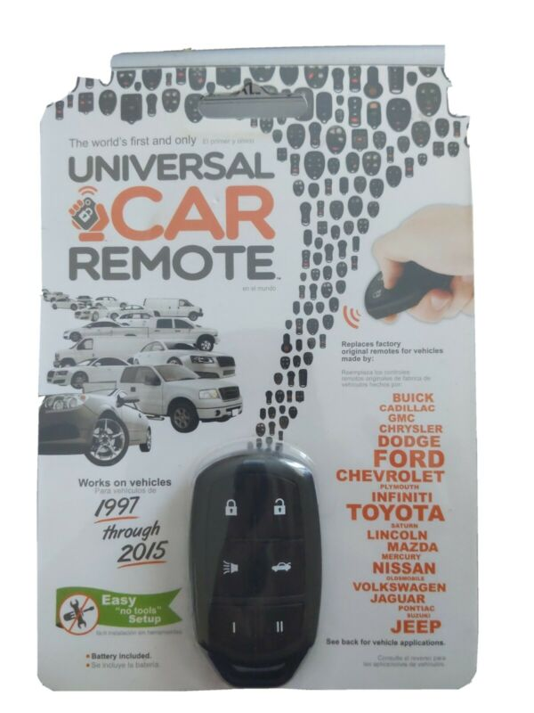 NEW Replacement universal  Car Remote Control - Black 1997-2015