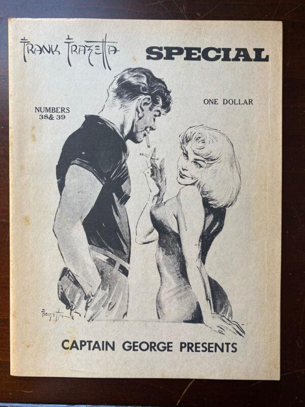 Frank Frazetta Special #38 #39 Captain George Presents (1970)