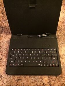 Tablet adjustable case & keyboard
