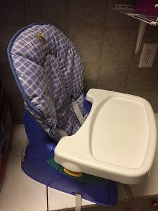 First years booster high chair