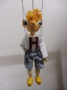 Marionette,,HURVINEK,,20cm,Holz-Gips,NEU