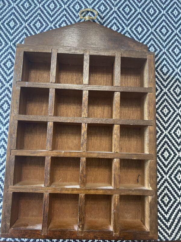 """Vintage Wooden Thimble Rack  9x6"""""""