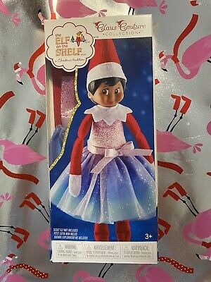 Elf on the Shelf Claus Couture Collection Pastel Polar Princess Dress NEW