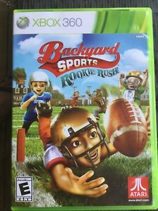 Backyard sports rookie rush (football game)