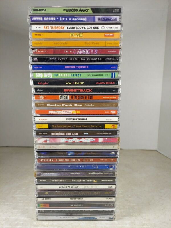 Wholesale Lot Of 30 Rock & Pop CDS, see photos and descriptions for details