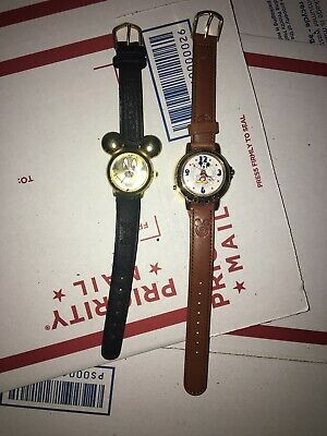Vintage - Quartz Lorus Musical Mickey Mouse Watch Playing Happy Birthday Bonus